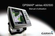 Garmin GPSMAP 525s,Dual Freq Xdcr - Manuel d'utilisation