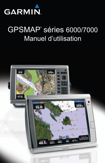 Garmin GPSMAP® 6212 - Manuel d utilisation