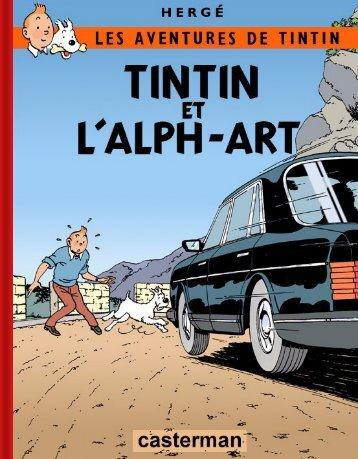 05 - Tintin et l'Alph-Art