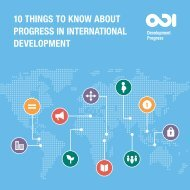 10 things to know about PROGRESS IN INTERNATIONAL DEVELOPMENT