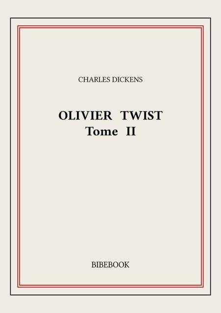 olivier twist ii