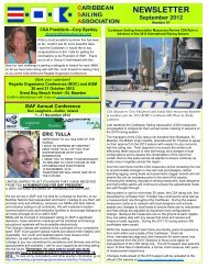 NEWSLETTER September 2012 - Antigua Yacht Club