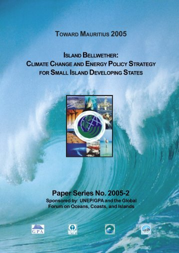 Island Bellwether - Global Forum on Oceans, Coasts and Islands