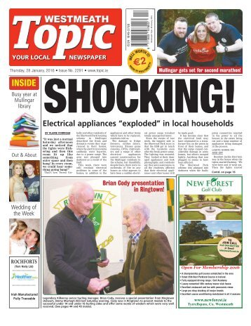 Westmeath Topic - 28 January 2016