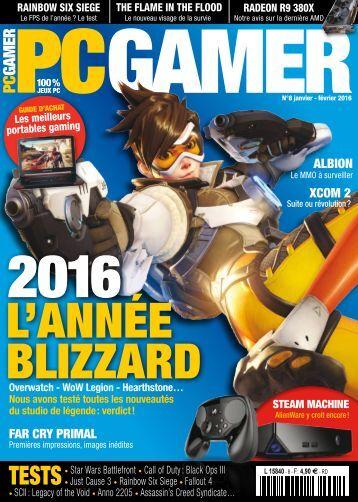 PC Gamer - Janvier_Février 2016
