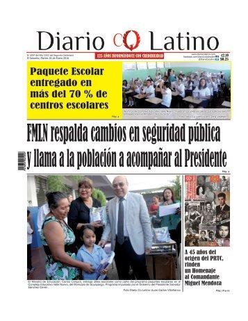 Edición 26 de Enero de 2016