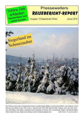 Siegerland im Schneezauber