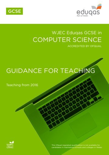 COMPUTER SCIENCE GUIDANCE FOR TEACHING