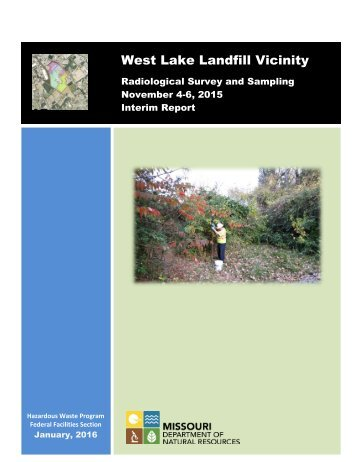 West Lake Landfill Vicinity