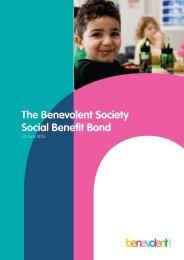 The Benevolent Society Social Benefit Bond