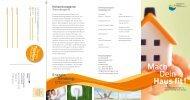 Flyer: Mach Dein Haus fit! - Klimaschutzagentur Weserbergland