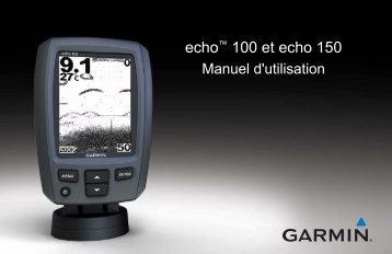 Garmin echo™ 100 - Manuel d'utilisation