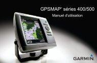 Garmin GPSMAP 431 - Manuel d'utilisation