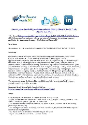 Heterozygous familial hypercholesterolemia (heFH)