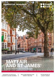 MAYFAIR AND ST JAMES'
