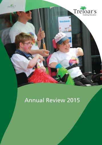 Treloar Trust Annual Review 2015
