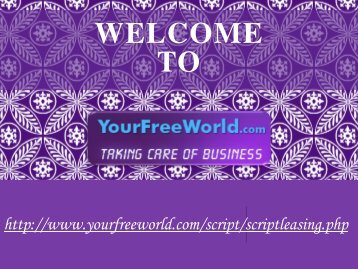 Your Free World Script Leasing