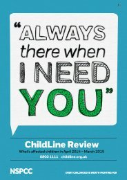ChildLine Review