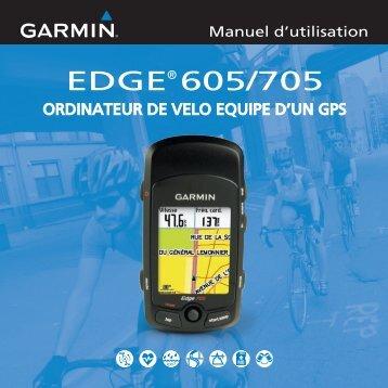 Garmin Edge® 705 - Manuel d utilisation