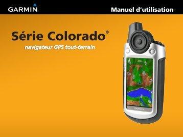 Garmin Colorado® 400t, U.S. - Manuel d utilisation
