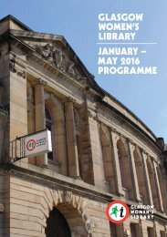 LIBRARY JANUARY – MAY 2016 PROGRAMME