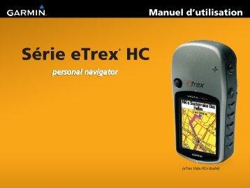 Garmin eTrex Vista® HCx - Manuel dutilisation
