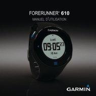 Garmin Forerunner® 610 - Manuel d'utilisation