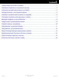Garmin vívofit® 2 - Informations importantes sur le produit et la sécurité