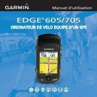 Garmin Edge® 605 - Manuel d utilisation