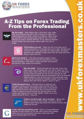 Secrets of forex trading