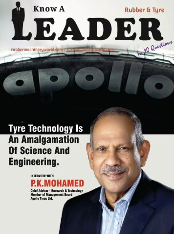 Interview With A Tyre Leader_PK Mohamed_Apollo Tyres