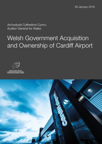 Welsh Government Acquisition and Ownership of Cardiff Airport