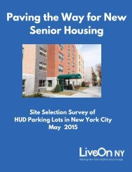 Paving the Way for New Senior Housing