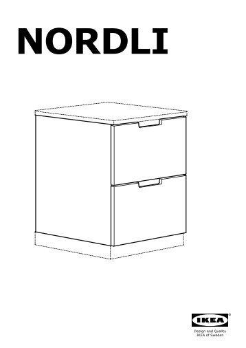 Antiquités Ikea Commode Nordli 8 Tiroirs