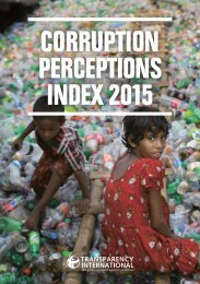 Corruption Perceptions Index 2015