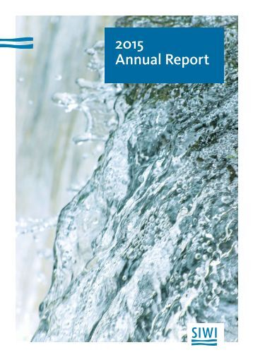SIWI 2015 Annual report digital