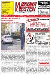 Bremer Westen - Ausgabe für Februar 2016