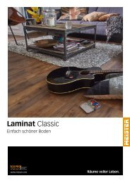MeisterWerke Classic Laminat Magazin