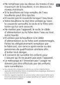 Moulinex bouilloire subito noir/fushia - BY540H10 - Modes d'emploi bouilloire subito noir/fushia Moulinex - Page 5