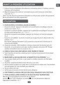 Moulinex bouilloire subito noir/fushia - BY540H10 - Modes d'emploi bouilloire subito noir/fushia Moulinex - Page 7