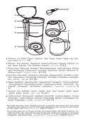 Moulinex cafetiere subito fushia/noir - FG360710 - Modes d'emploi cafetiere subito fushia/noir Moulinex - Page 2