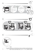 Moulinex cafetiere subito fushia/noir - FG360710 - Modes d'emploi cafetiere subito fushia/noir Moulinex - Page 4