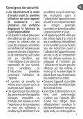 Moulinex cafetiere subito fushia/noir - FG360710 - Modes d'emploi cafetiere subito fushia/noir Moulinex - Page 7