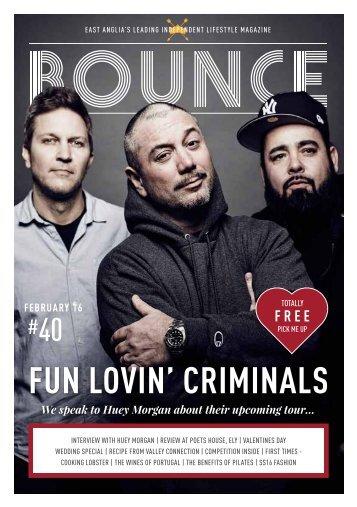 Bounce Magazine February 2016