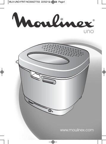 Akt 326 mode d 39 emploi de la friteuse boulanger - Friteuse moulinex uno m blanc ...