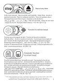 Moulinex grille pain subito noir/fushia - TL176711 - Modes d'emploi grille pain subito noir/fushia Moulinex - Page 3