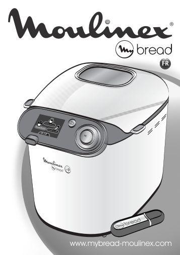 moulinex machine a pain recette pdf