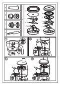 Moulinex ROBOT MULTIFONCTIONS ODACIO - FP7331BM - Modes d'emploi ROBOT MULTIFONCTIONS ODACIO Moulinex - Page 5