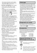 Moulinex hachoir la moulinette - DPA241 - Modes d'emploi hachoir la moulinette Moulinex - Page 7