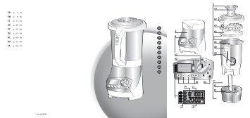 livre recettes blender chauffant pc282. Black Bedroom Furniture Sets. Home Design Ideas